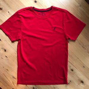 🐝Nautica XL(18/20) red cotton tee shirt